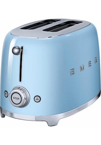 Smeg Toaster »TSF01PBEU«, für 2 Scheiben, 950 Watt kaufen