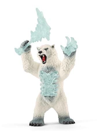 Schleich® Spielfigur »Eldrador, Blizzard Bär mit Waffe (42510)« kaufen