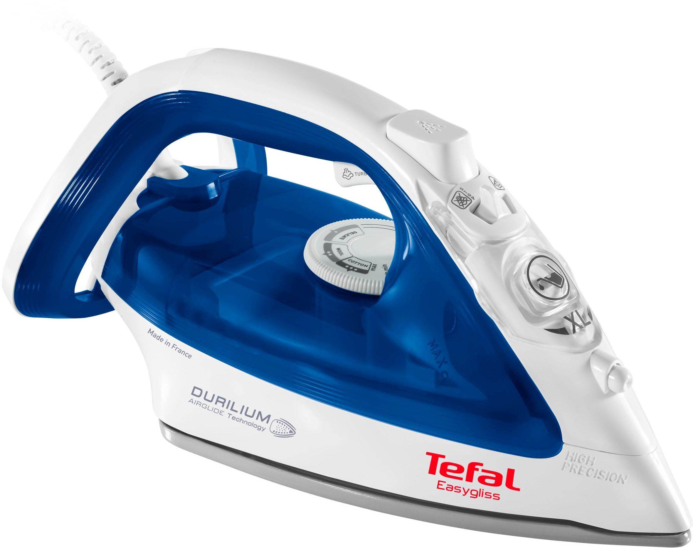 Tefal Dampfbügeleisen FV3960 Easygliss, 2400 Watt | Flur & Diele > Haushaltsgeräte > Bügeleisen | Weiß | TEFAL