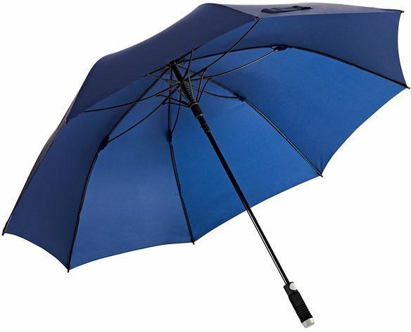 Euroschirm® Regenschirm für Zwei, »Stockschirm birdiepal® automatic, marine« | Accessoires > Regenschirme > Stockschirme | Blau | Polyester - Nylon | EUROSCHIRM®