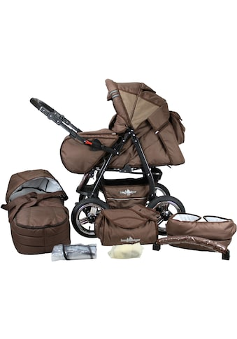 """bergsteiger Kombi - Kinderwagen """"Rio, chocolate, 3in1"""", (10 - tlg.) kaufen"""