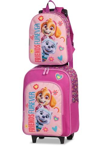 fabrizio® Kinderkoffer »Paw Patrol-Set Rucksack und Trolley, rosa«, (2 St.), 2 Rollen kaufen