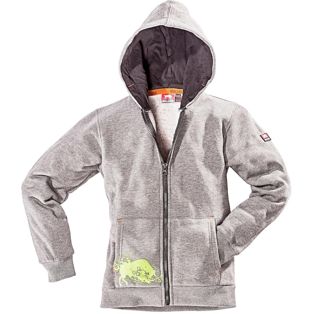 Bullstar Kapuzensweatshirt »Kinder Kapuzen-Sweatjacke Ultra«