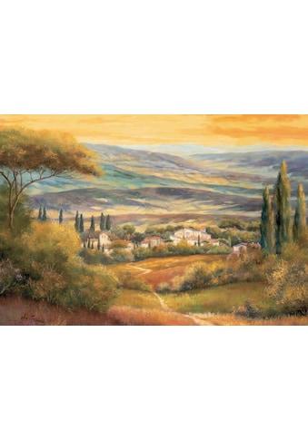 Home affaire Wandbild »Toskanatal« kaufen