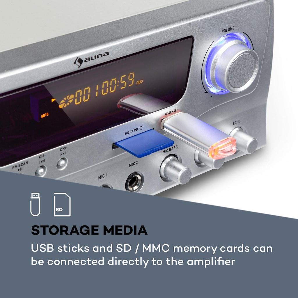 Auna Hifi-Verstärker 2x50 W RMS BT USB SD
