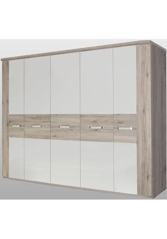 FORTE Kleiderschrank »Rondino«, mit Kranz kaufen