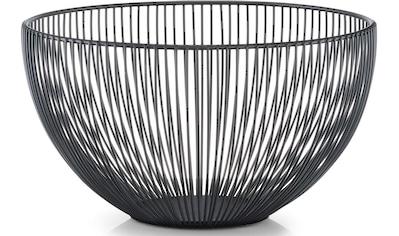 Zeller Present Obstschale, in klarem Design kaufen