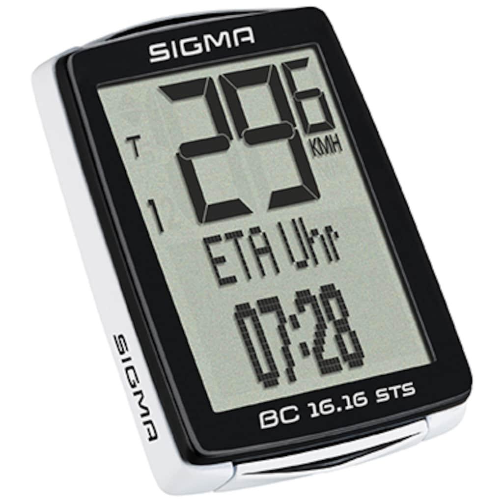 SIGMA SPORT Fahrradcomputer »BC 16.16 STS«