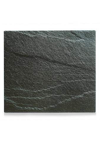 """Zeller Present Herdblende - /Abdeckplatte """"Schiefer"""", Glas, (1 - tlg.) kaufen"""