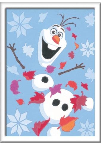 Ravensburger Malen nach Zahlen »Disney Frozen II, Fröhlicher Olaf«, Made in Europe kaufen