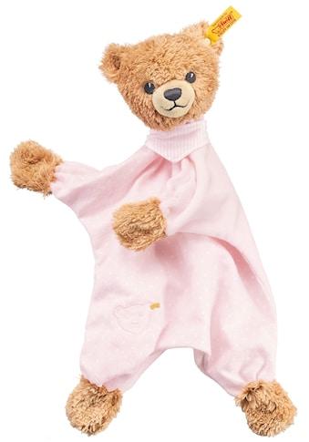 """Steiff Schmusetuch """"Schlaf - gut - Bär Schmusetuch, rosa"""", (1 - tlg.) kaufen"""