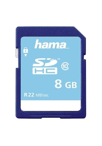 Hama Speicherkarte, ( Class 10 ), 8 GB, Class 10 kaufen