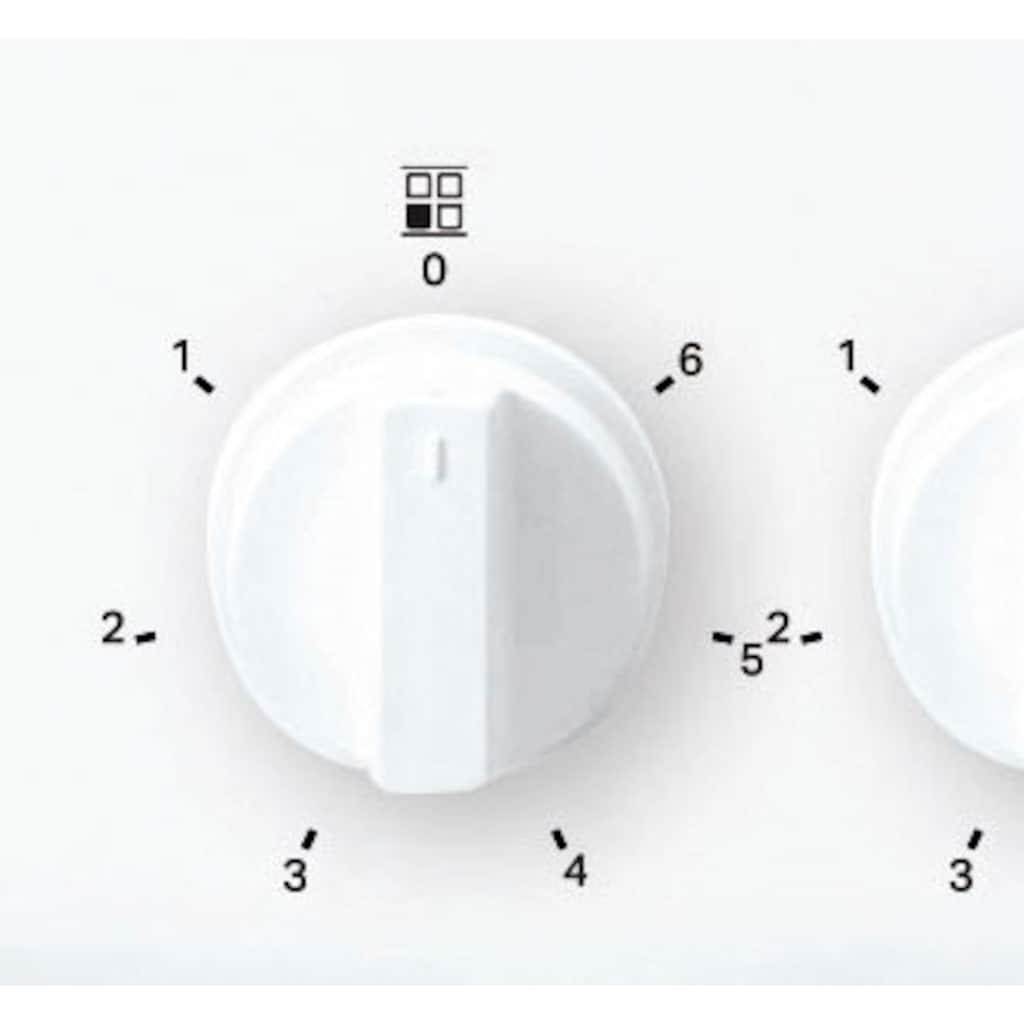 BAUKNECHT Elektro-Standherd »BS5V4KHW/DE«, BS5V4KHW/DE, mit Backauszug, Hydrolyse