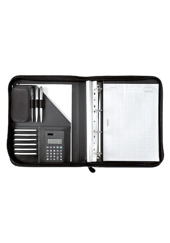 Alassio® Ringbuchmappe »DIN A4, Riccione«, mit Taschenrechner kaufen
