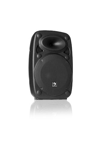 """Auna Aktiver PA Lautsprecher 8"""" 300 W max. USB- und SD-Port kaufen"""