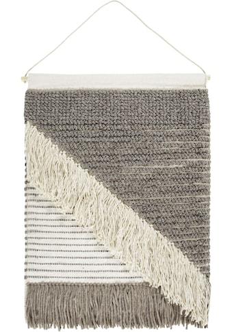 LUXOR living Wandteppich »Skagen 3«, rechteckig, 10 mm Höhe, Wanddeko, handgefertigt, im Boho-Stil, Wohnzimmer kaufen