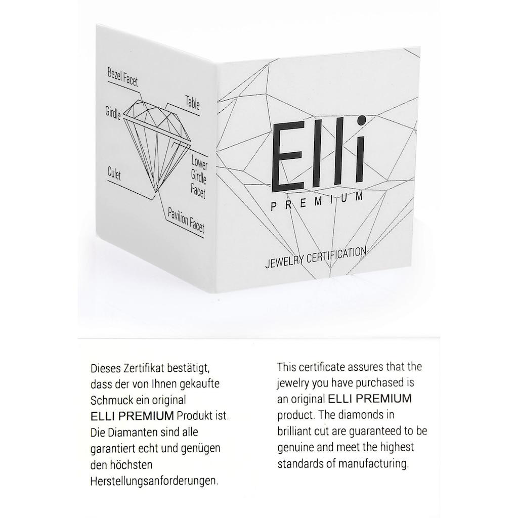 Elli DIAMONDS Memoirering »0612361813«, mit funkelnden Brillanten
