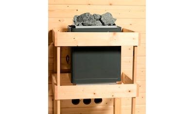 Karibu Sauna »Nastja«, ohne Ofen kaufen