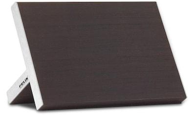 Felix Solingen Magnet-Messerblock, 1 tlg., aus dunkler Eiche, furniert kaufen