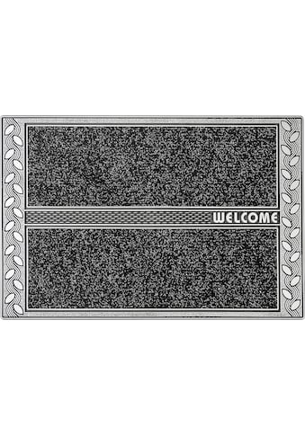 CarFashion Fußmatte »SE Clean Leaves«, rechteckig, 8 mm Höhe, Schmutzfangmatte, mit... kaufen