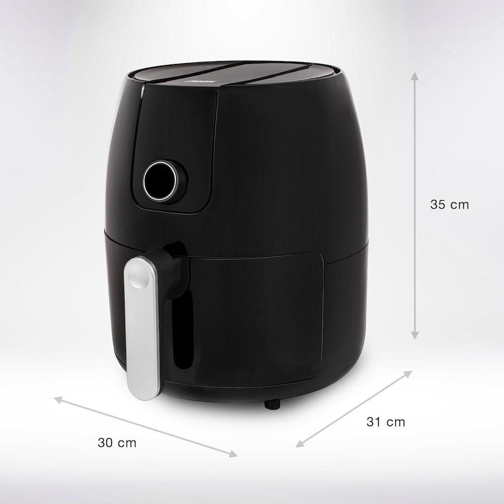 PRINCESS Heissluftfritteuse »182025«, 1500 W, 4,5L Fassungsvermögen, 80-200°C