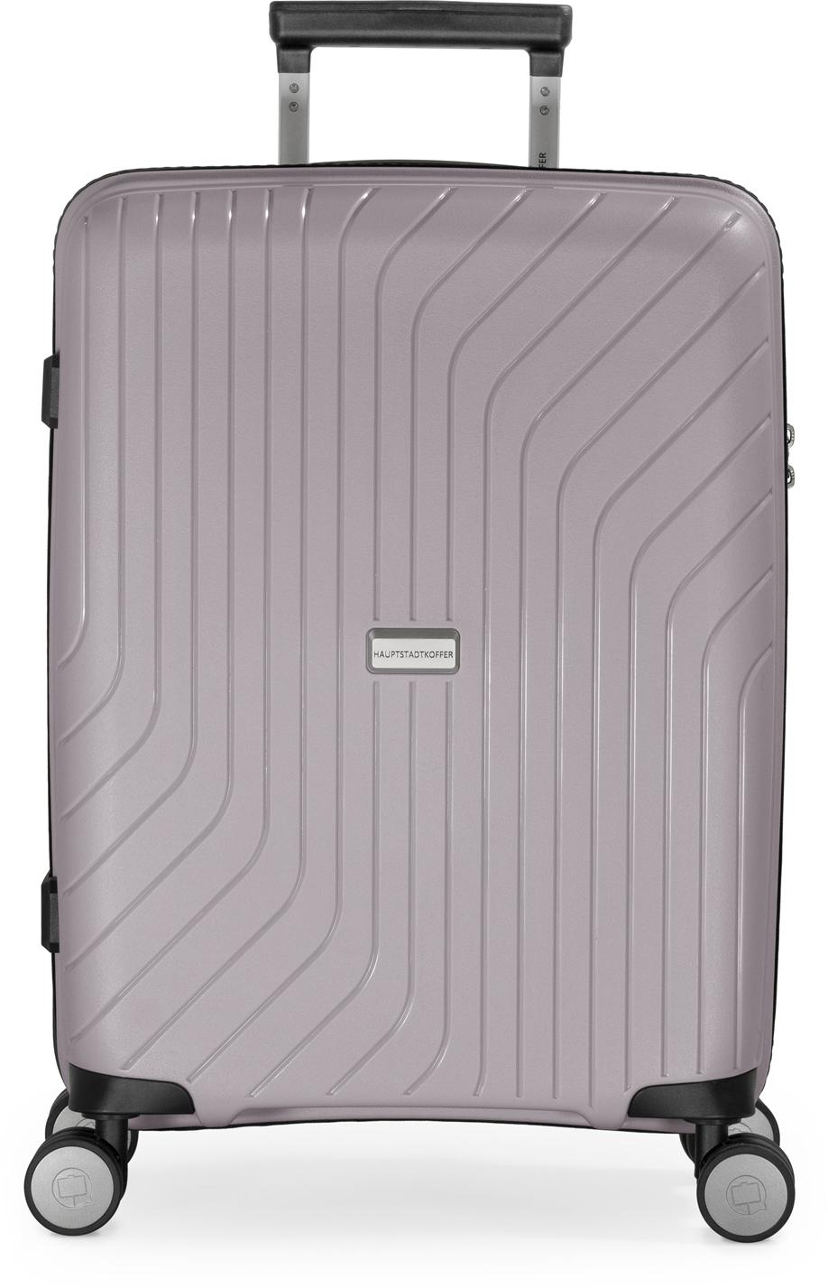 Hauptstadtkoffer Hartschalen-Trolley TXL, vintage silber, 55 cm, 4 Rollen | Taschen > Koffer & Trolleys > Trolleys | hauptstadtkoffer