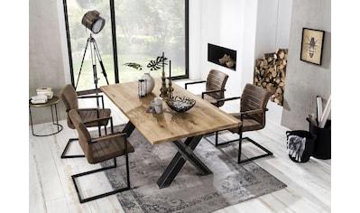 SIT Esstisch »Tables«, mit Platte aus Wildeiche natur kaufen