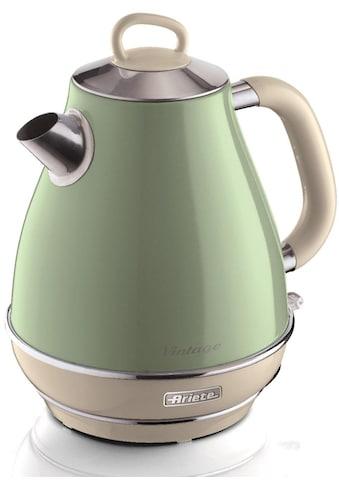 Ariete Wasserkocher »Vintage 2869 grün«, 1,7 l, 2200 W kaufen