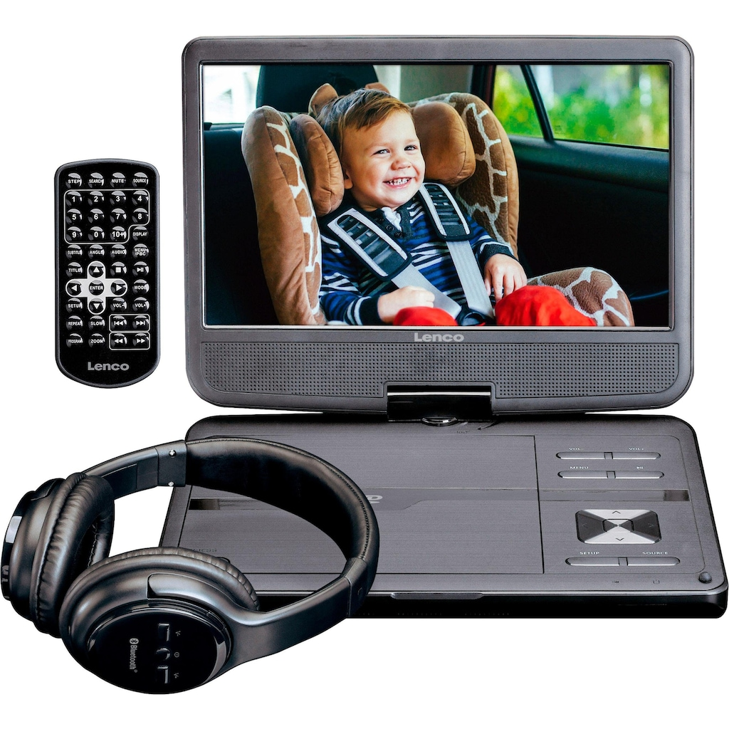 Lenco Portabler DVD-Player »DVP-1017«, Bluetooth
