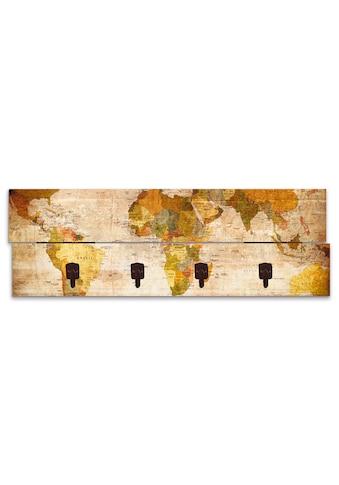 Artland Garderobenpaneel »Weltkarte« kaufen