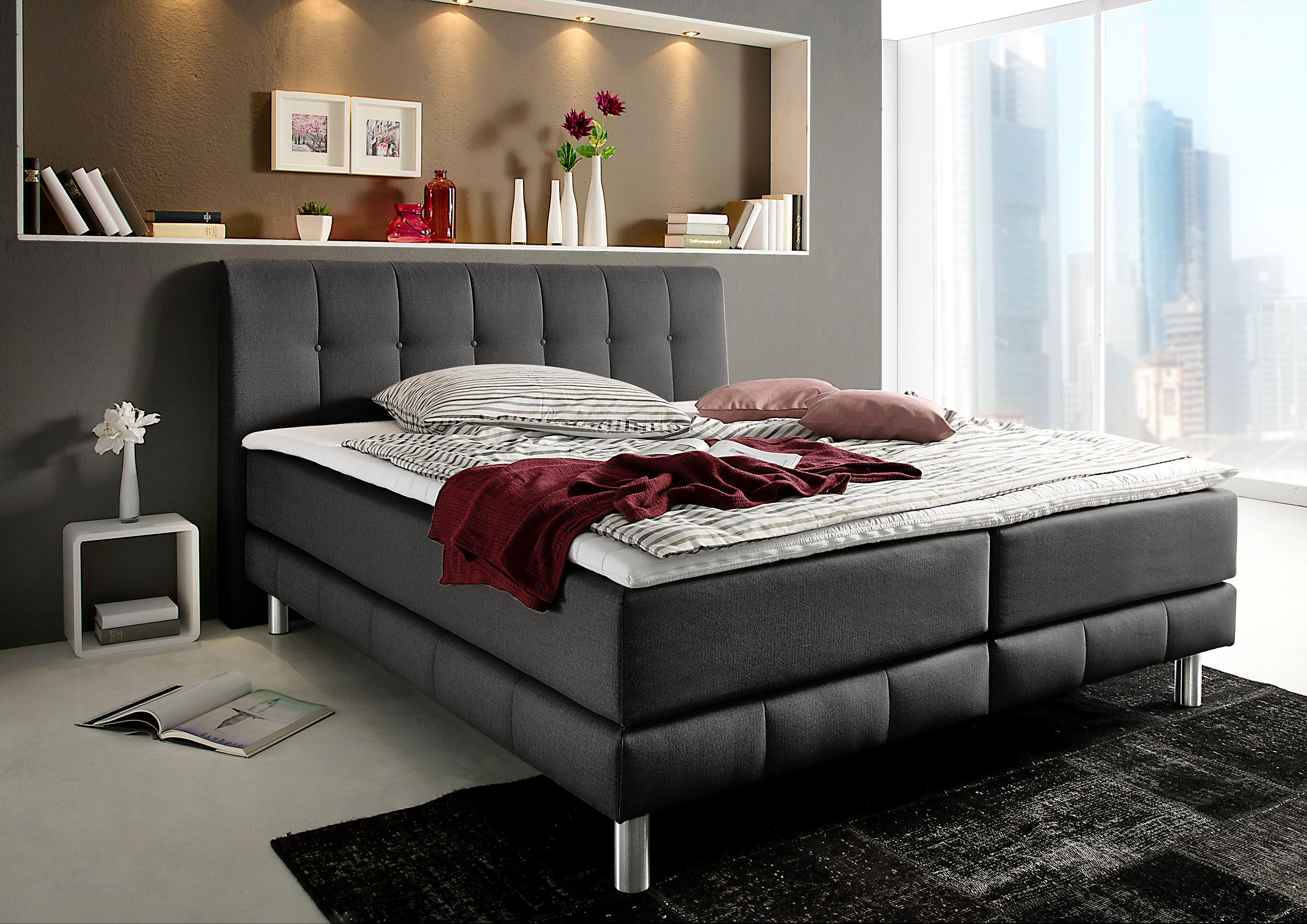 Places of Style Boxspringbett »Kalmar« | Schlafzimmer > Betten | PLACES OF STYLE