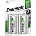 Energizer Akku »NiMH Power Plus, Mono (D), 2500 mAh 2 Stück«, Mono, D
