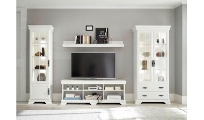 Home affaire Wohnzimmer-Set »Royal«, (4 St.), Bestehend aus 2 Vitrinen, 1 Lowboard und... kaufen