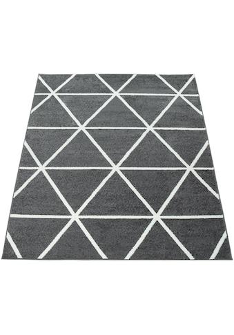 Paco Home Teppich »Stella 401«, rechteckig, 12 mm Höhe, Kurzflor, intensive... kaufen