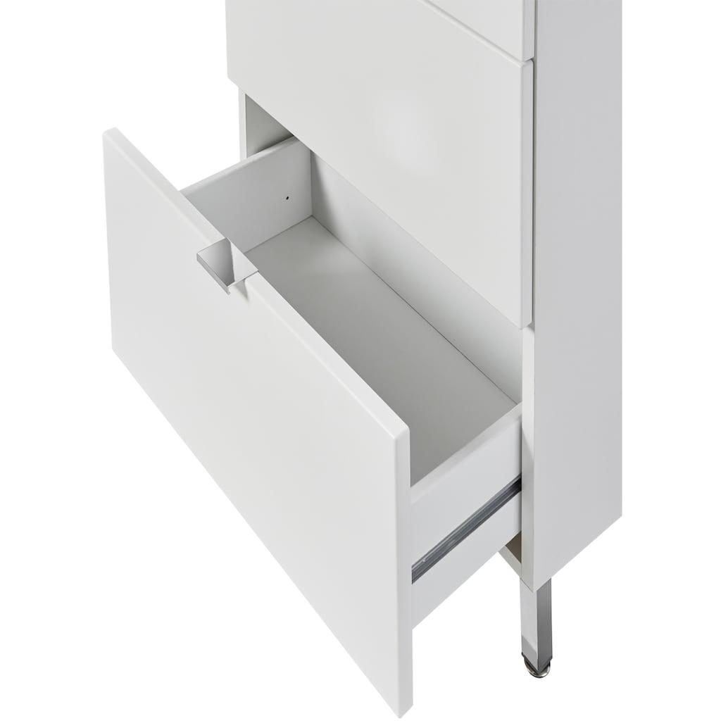 welltime Badmöbel-Set »Granada Waschplatz 50«, (Set, 2 St.), hängende oder stehende Montage möglich