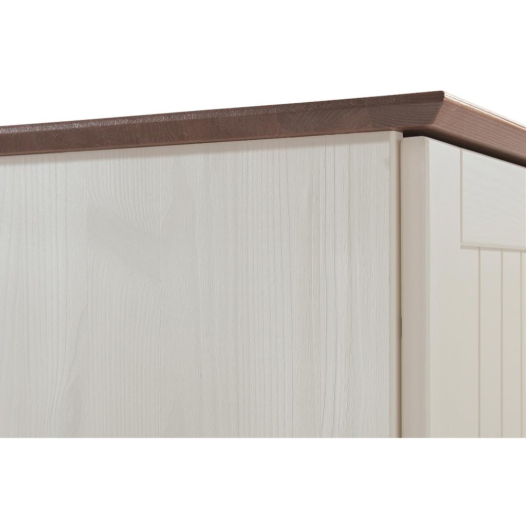 welltime Unterschrank »Venezia Landhaus«, Breite 33 cm, aus hochwertigem Echtholz