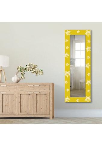 Artland Wandspiegel »Sterne«, gerahmter Ganzkörperspiegel mit Motivrahmen, geeignet... kaufen