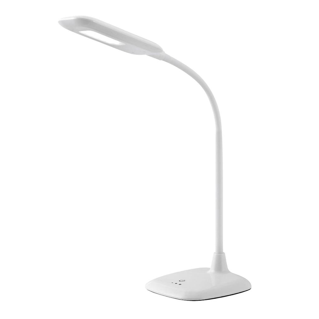 Brilliant Leuchten Nele LED Tischleuchte Touchdimmer weiß