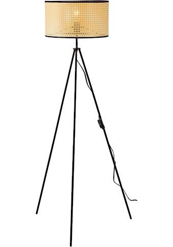 Nino Leuchten Pendelleuchte »LU«, E27, 1 St., Stehleuchte, Wiener Geflecht kaufen