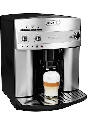 De'Longhi Kaffeevollautomat »Magnifica ESAM 3200.S«, mit Milchaufschäumdüse, Kegelmahlwerk 13 Stufen, Herausnehmbare Brühgruppe, 2-Tassen-Funktion, in silber kaufen