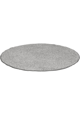 Andiamo Teppich »Shaggy uni«, rund, 15 mm Höhe, Wohnzimmer kaufen