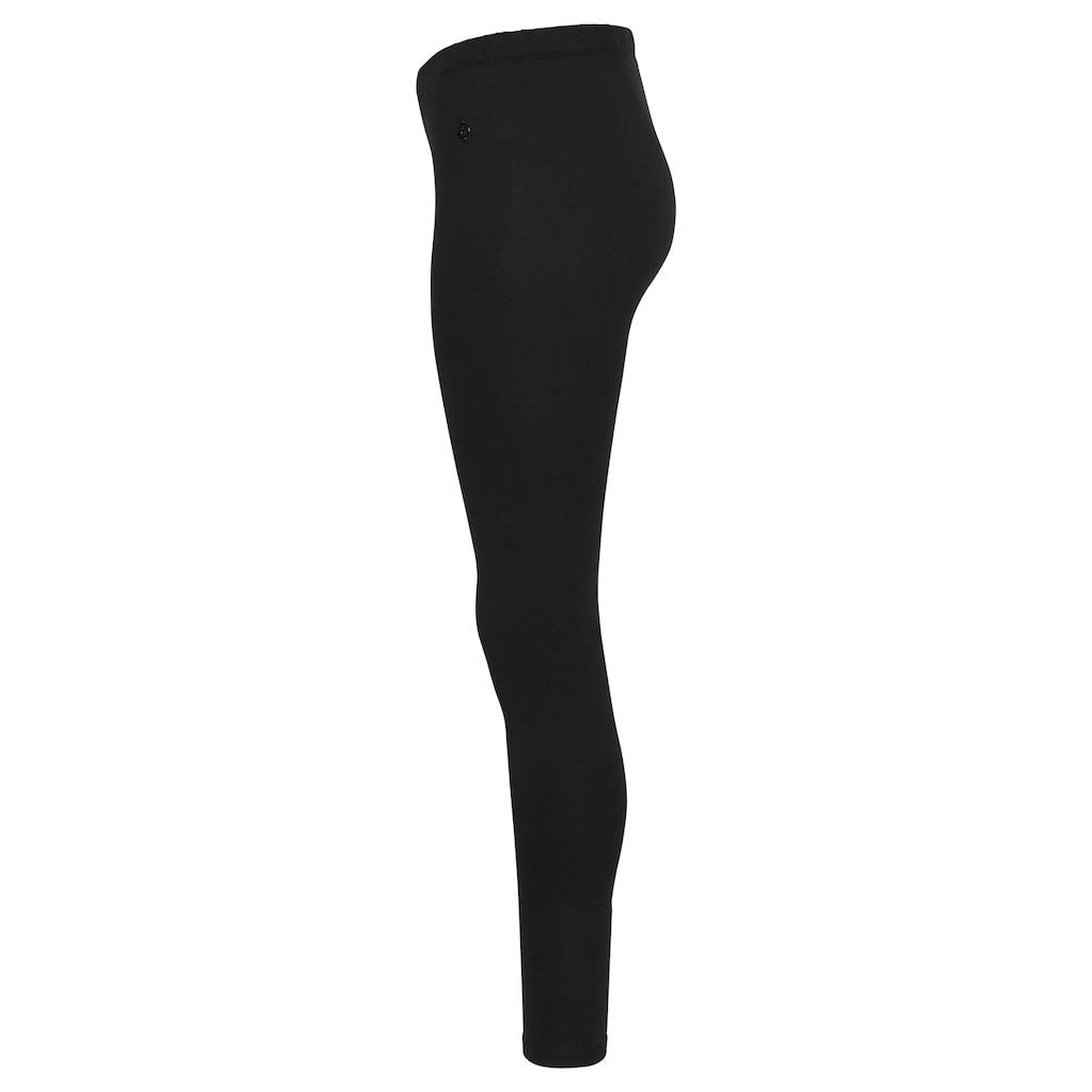 Tamaris Leggings, (2er-Pack), in zwei Längen