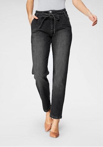 BLUE FIRE Gerade Jeans »RITA-BF«, mit passendem Bindegürtel kaufen