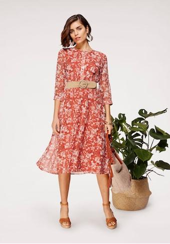 Tamaris Chiffonkleid, mit Blumenprint - NEUE KOLLEKTION kaufen