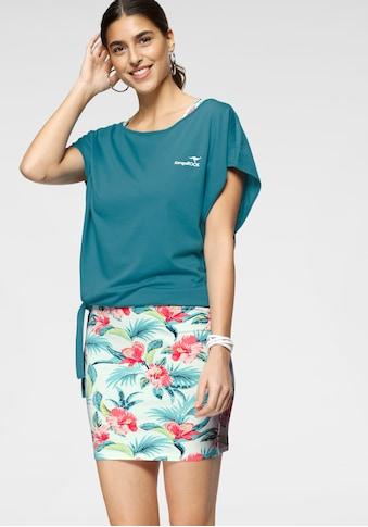 KangaROOS 2-in-1-Kleid, Set Kleid und Shirt mit Tropical Hibiskus Print kaufen