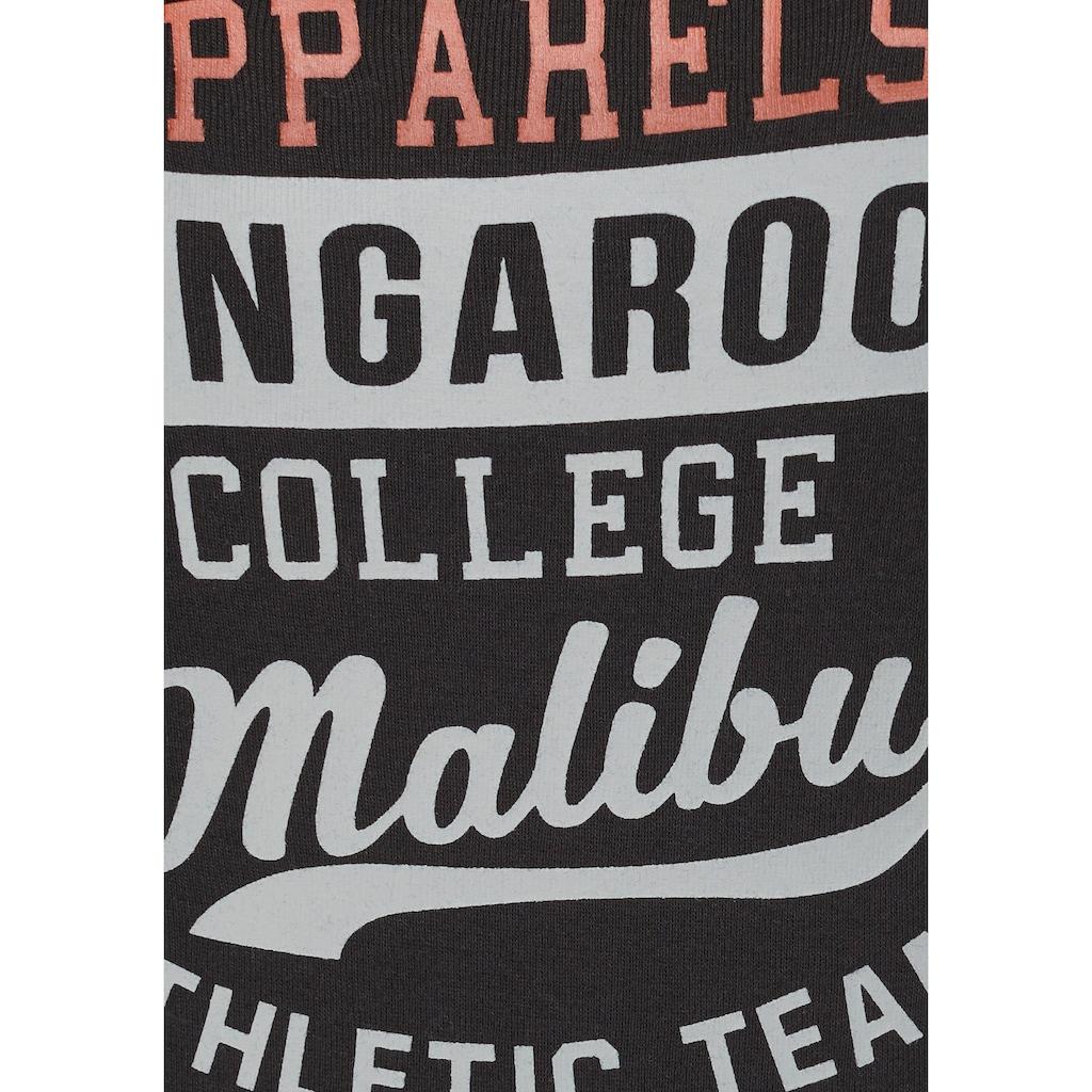 KangaROOS Longsleeve, mit großem Label-Print vorne