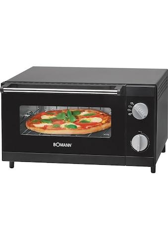 BOMANN Minibackofen »MPO 2246 CB«, Ober-/Unterhitze, 1000 W, Pizzaofen ideal zum... kaufen