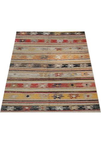 Paco Home Teppich »Artigo 402«, rechteckig, 4 mm Höhe, Kurzflor, In- und Outdoor... kaufen