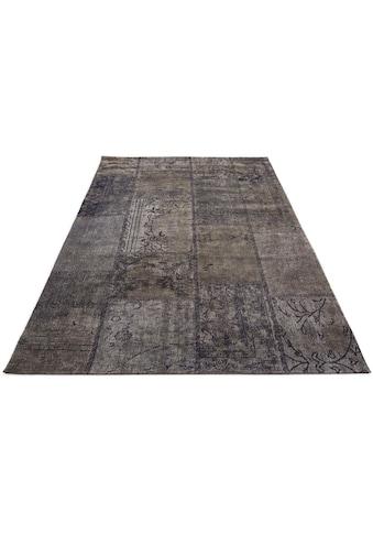 GALLERY M branded by Musterring Teppich »Patch«, rechteckig, 5 mm Höhe, Flachgewebe,... kaufen