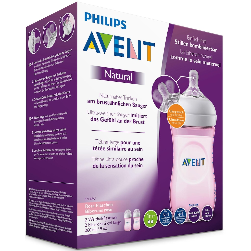 Philips AVENT Babyflasche »Natural SCF034/27«
